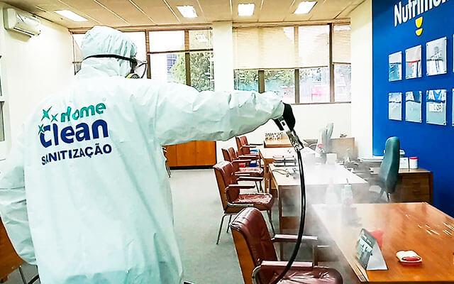 Sanitização - Condoclean   Home Clean